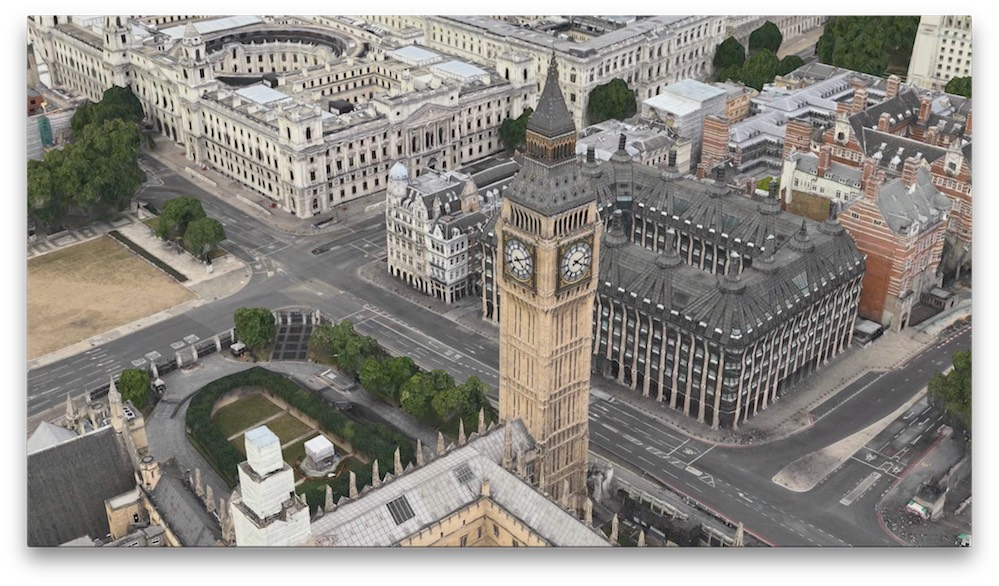 Apple Flyover Big Ben